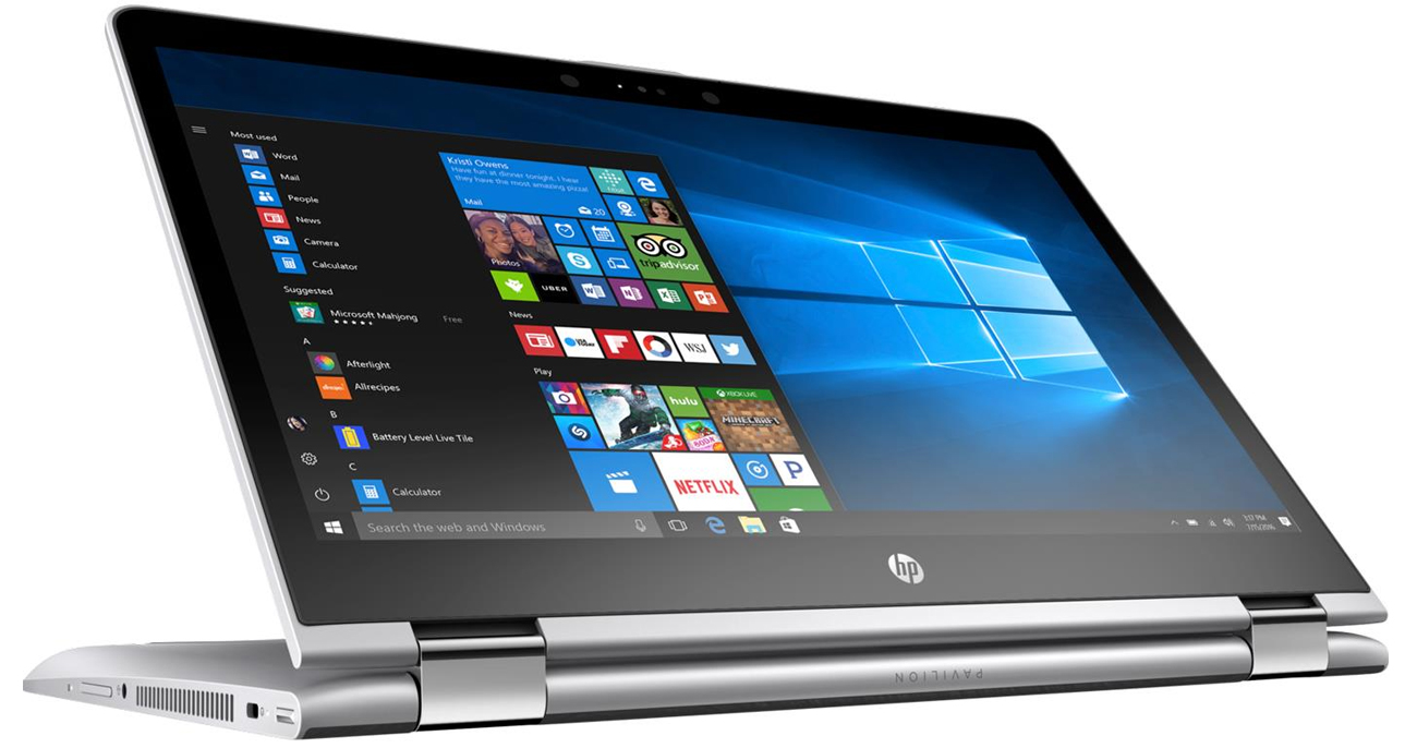 HP 	Pavilion x360 ukłąd graficzny intel HD Graphics