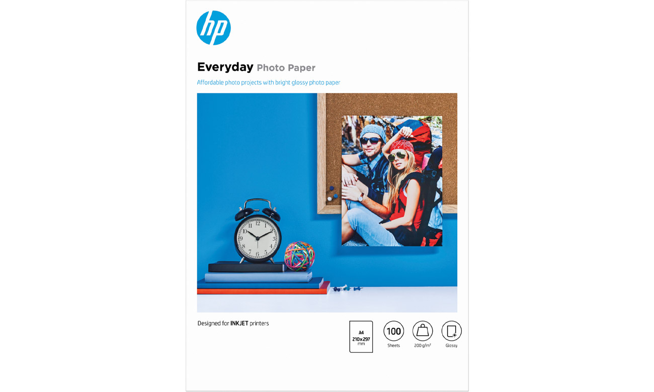 Papier do drukarki HP Semi-glossy Photo (A4 175g) 100szt