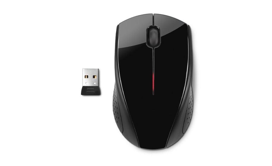 Myszka bezprzewodowa HP X3000 Wireless Mouse czarna H2C22AA