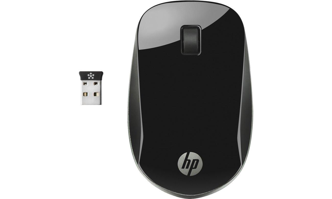 Myszka bezprzewodowa HP Z4000 Wireless Mouse czarna H5N61AA