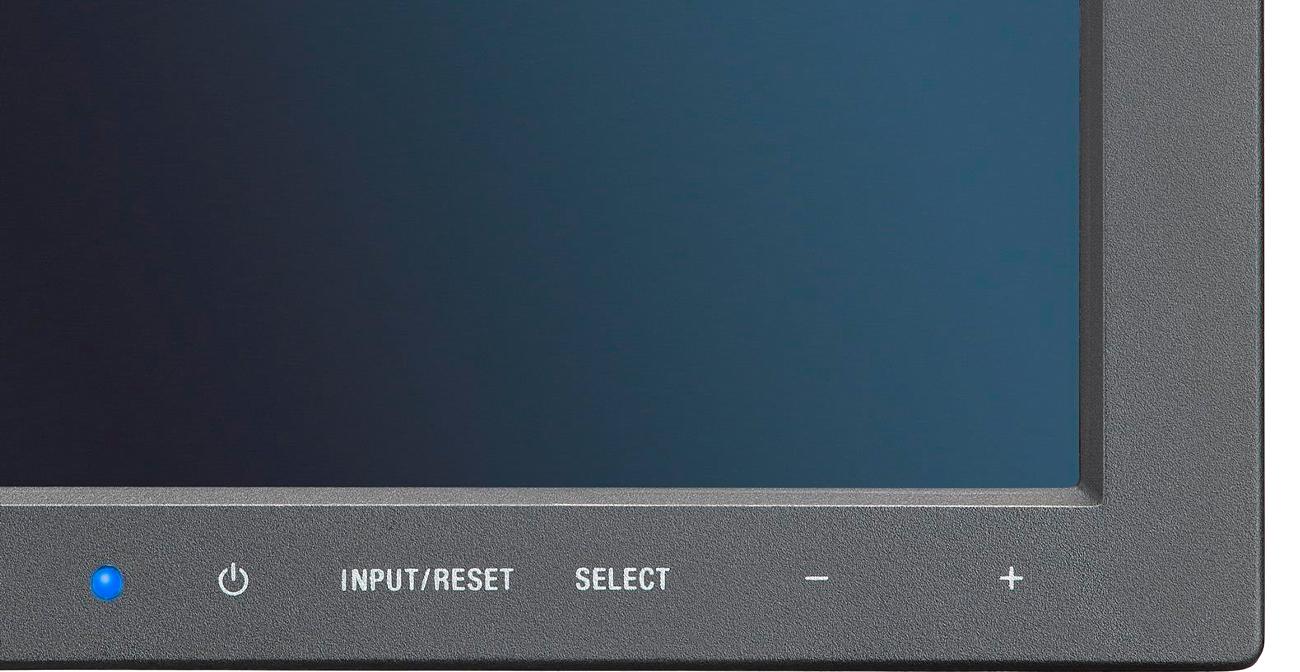 Nec MultiSync E245WMi przyciski sterujące