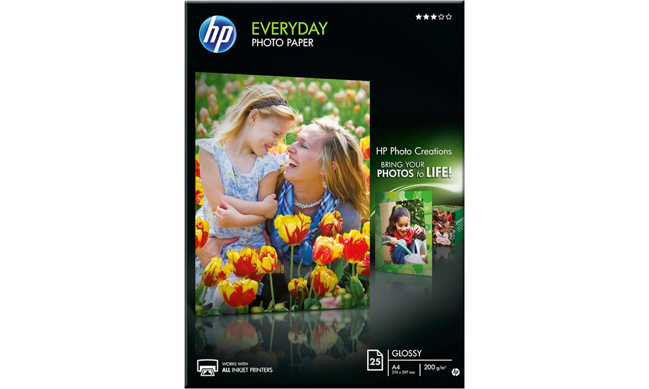 Papier fotograficzny HP Everyday Photo Paper - Q5451A