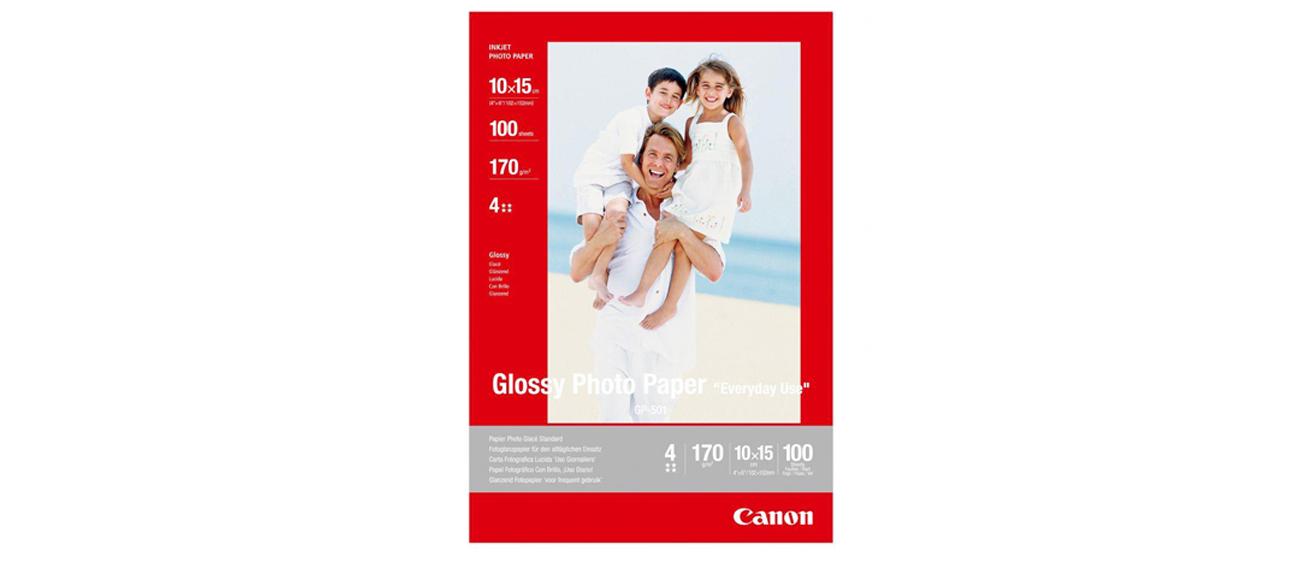 Canon Papier fotograficzny GP-501 10x15, 170g 100szt Glossy Photo Paper