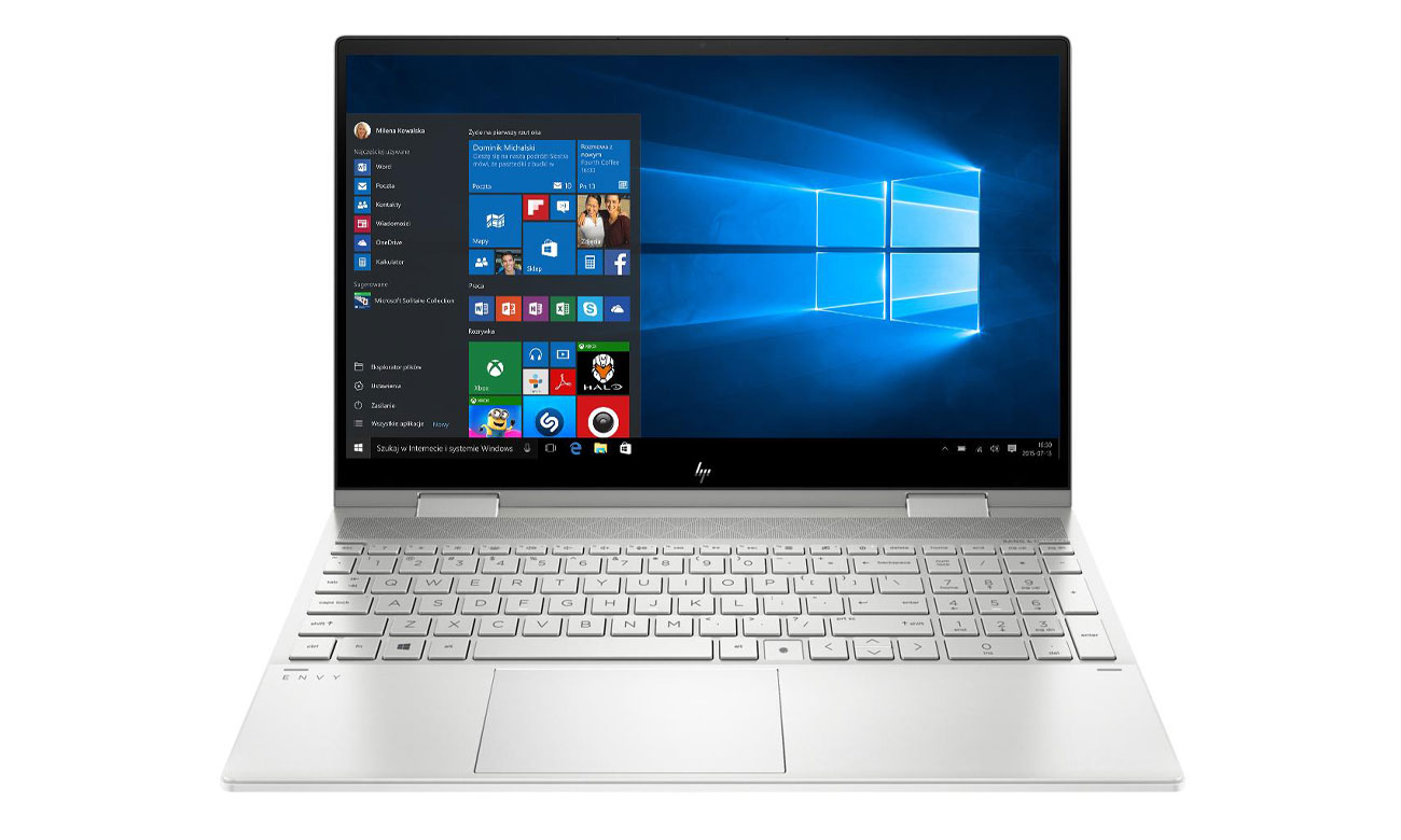 Laptop uniwersalny HP ENVY 15 x360