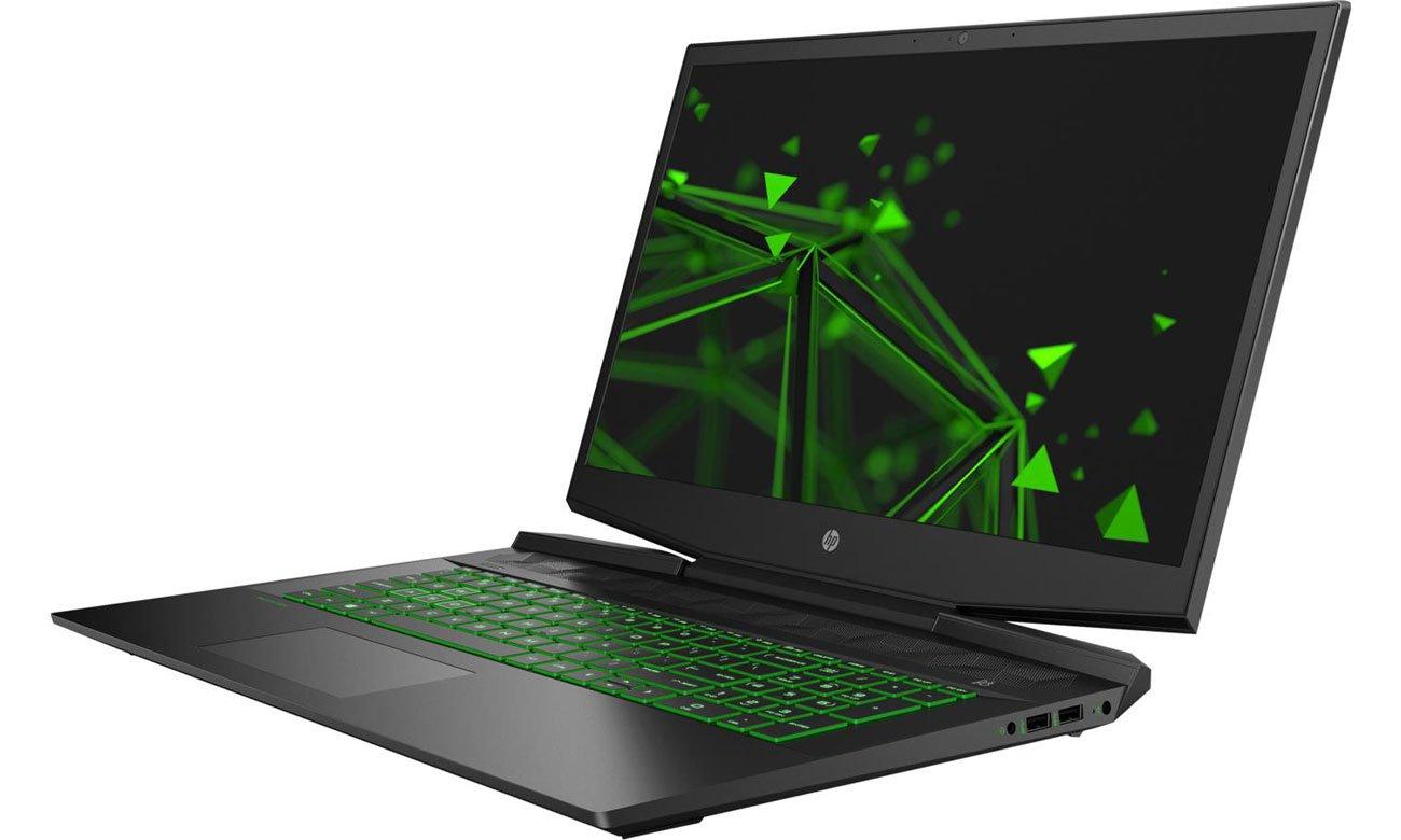 Dźwięk i klawiatura HP Pavilion Gaming