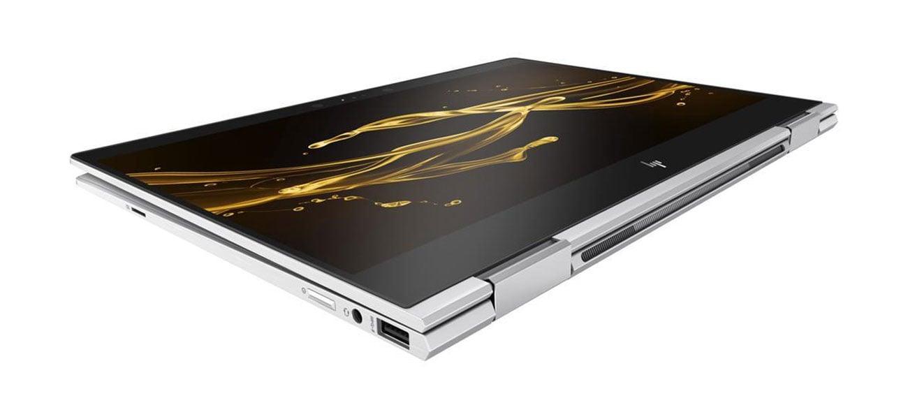 HP Spectre x360 Czytnik linii papilarnych i kamera na podczerwień Windows Hello