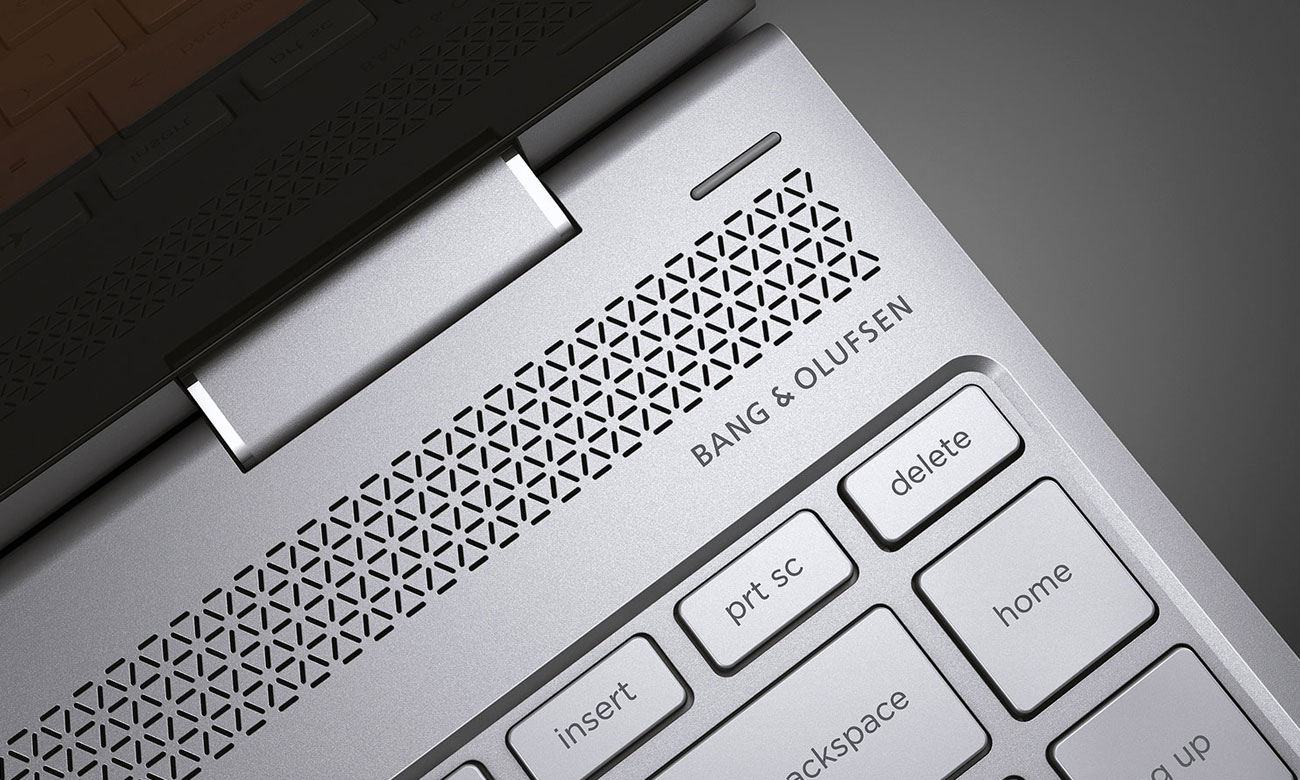 HP Spectre x360 Bang Olufsen dźwięk