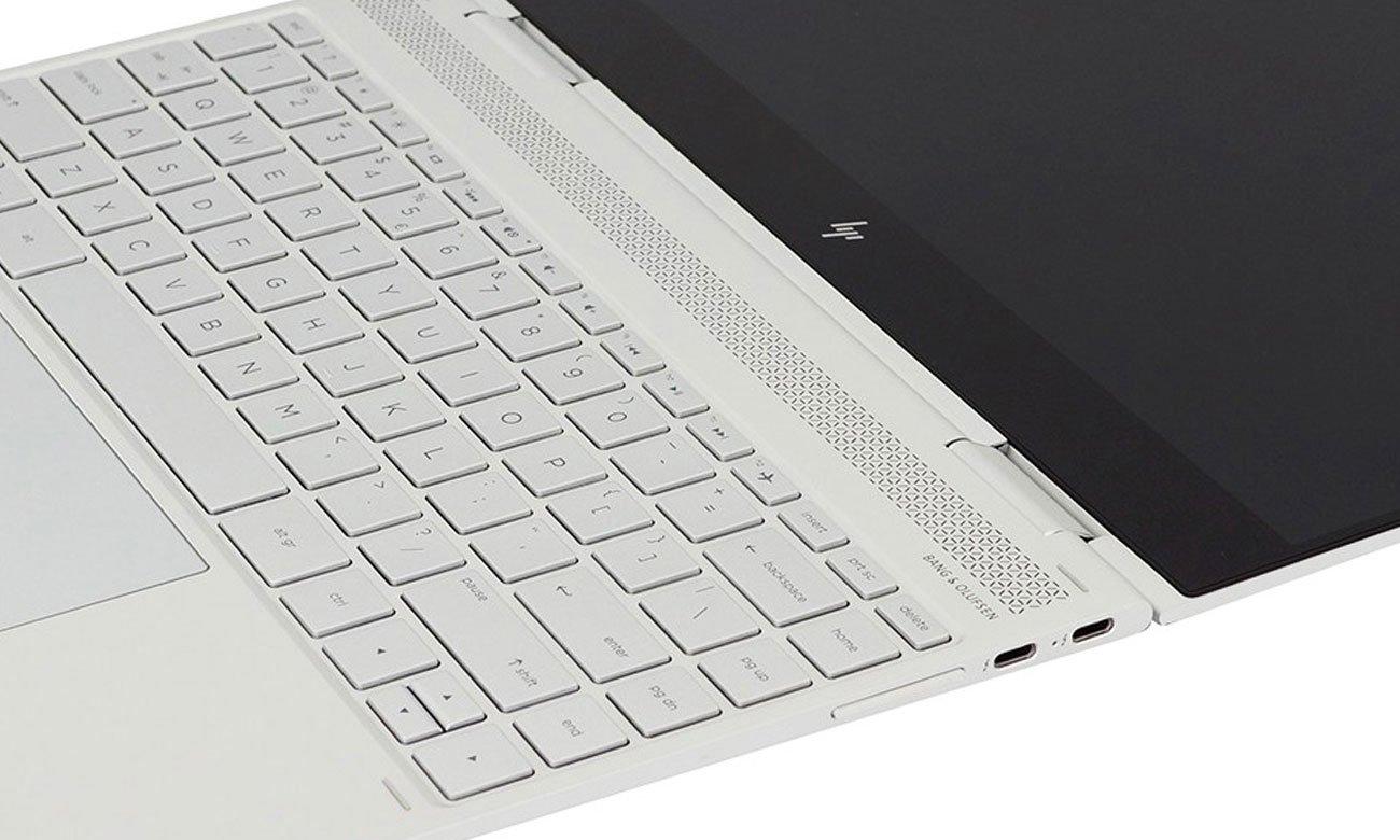 HP Spectre x360 podświetlana klawiatura
