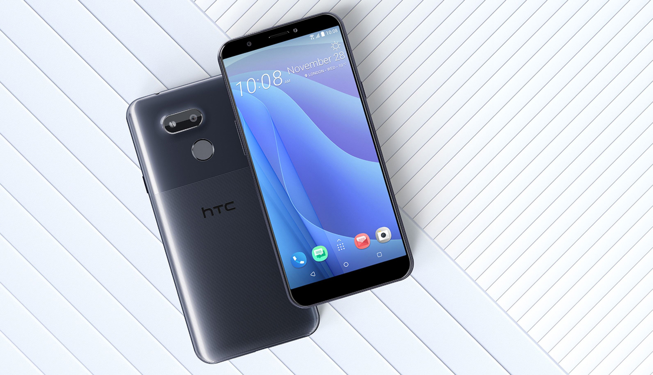 HTC Desire 12s obudowa z prążkowaną fakturą