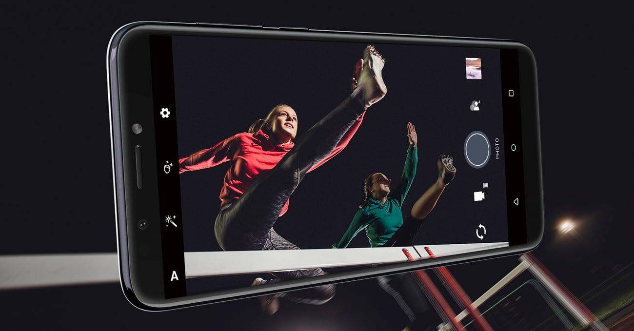 HTC Desire 12+ selfie 8 mpix lampa led
