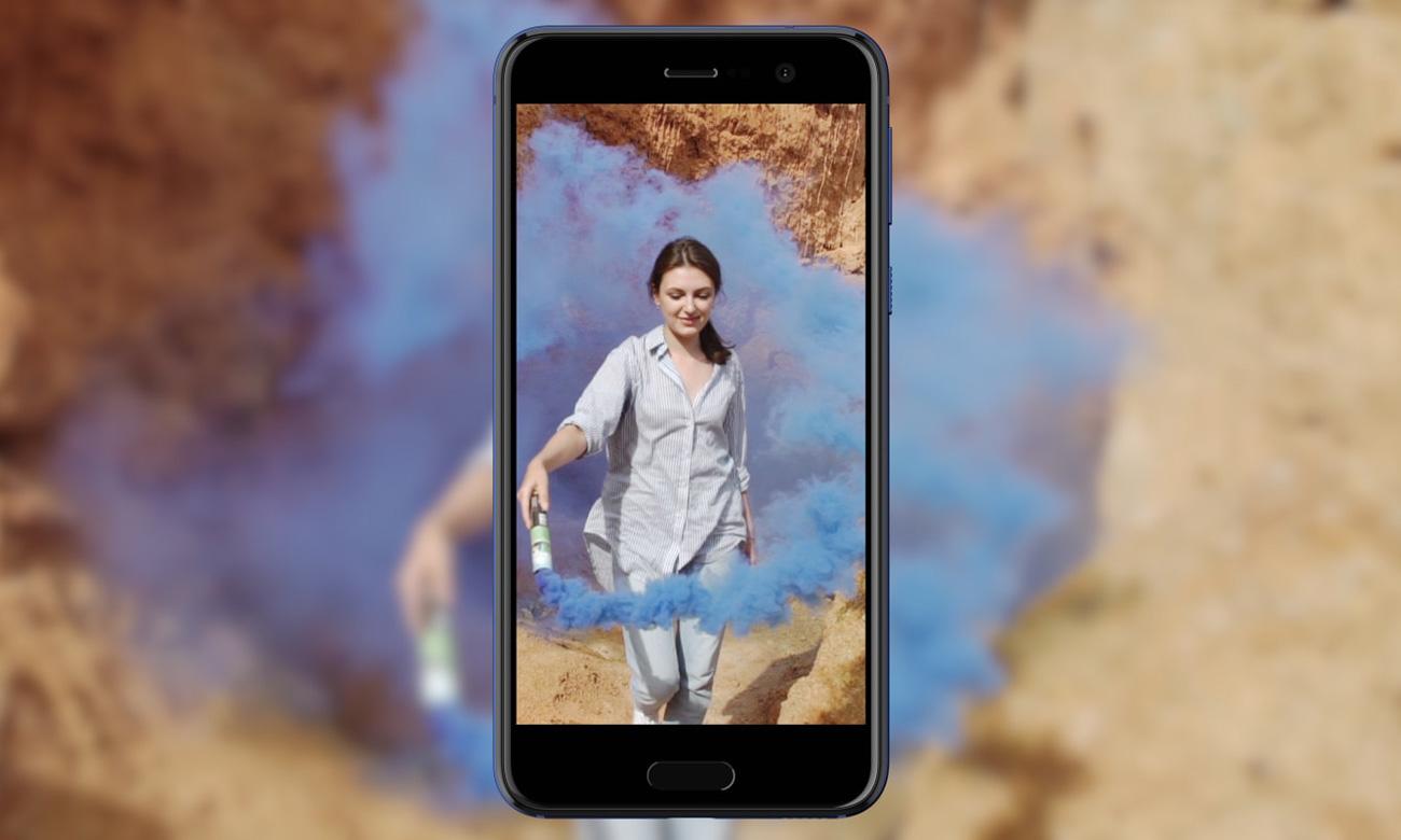 HTC U Play zwiększona czułośc matrycy ultra pixel
