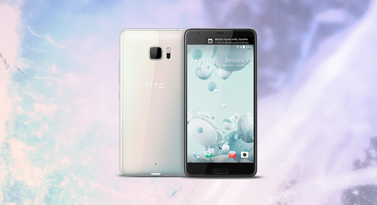 HTC U Ultra stylowa obudowa ze szkła i metalu