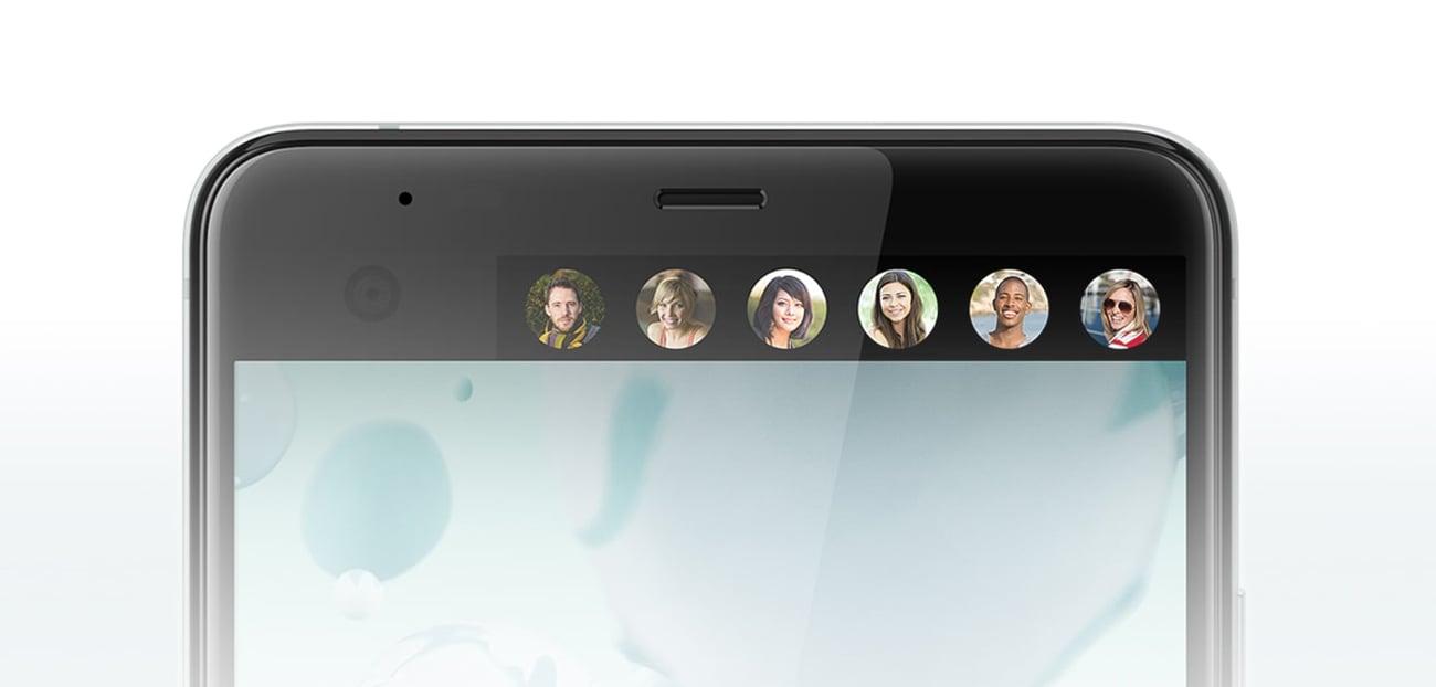 HTC U Ultra dodatkowy ekran powiadomień