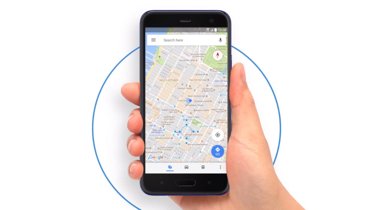 HTC U11 Life obsługa aplikacji uściskiem