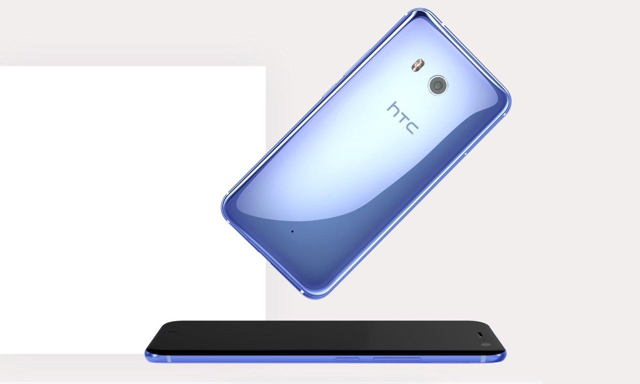 HTC U11 smukła szklana obudowa