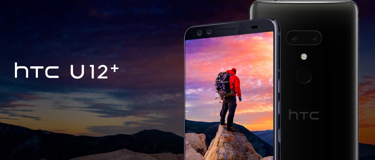 HTC U12+ jednolita błyszcząca obudowa ze szkła akrylowego IP68