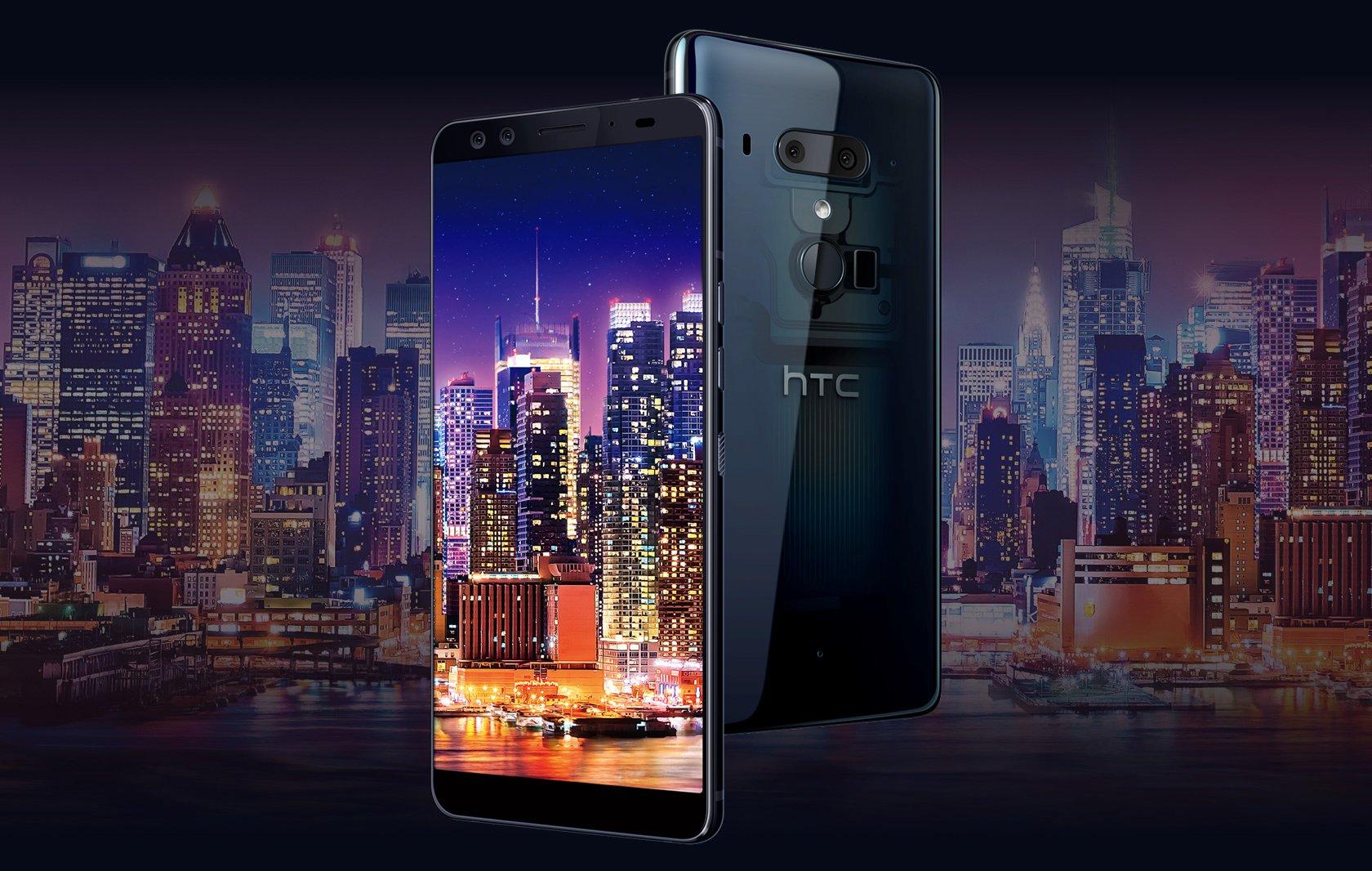 HTC U12+ podwójny aparat 16 + 12 Mpix EIS OIS laserowy autofocus HDR