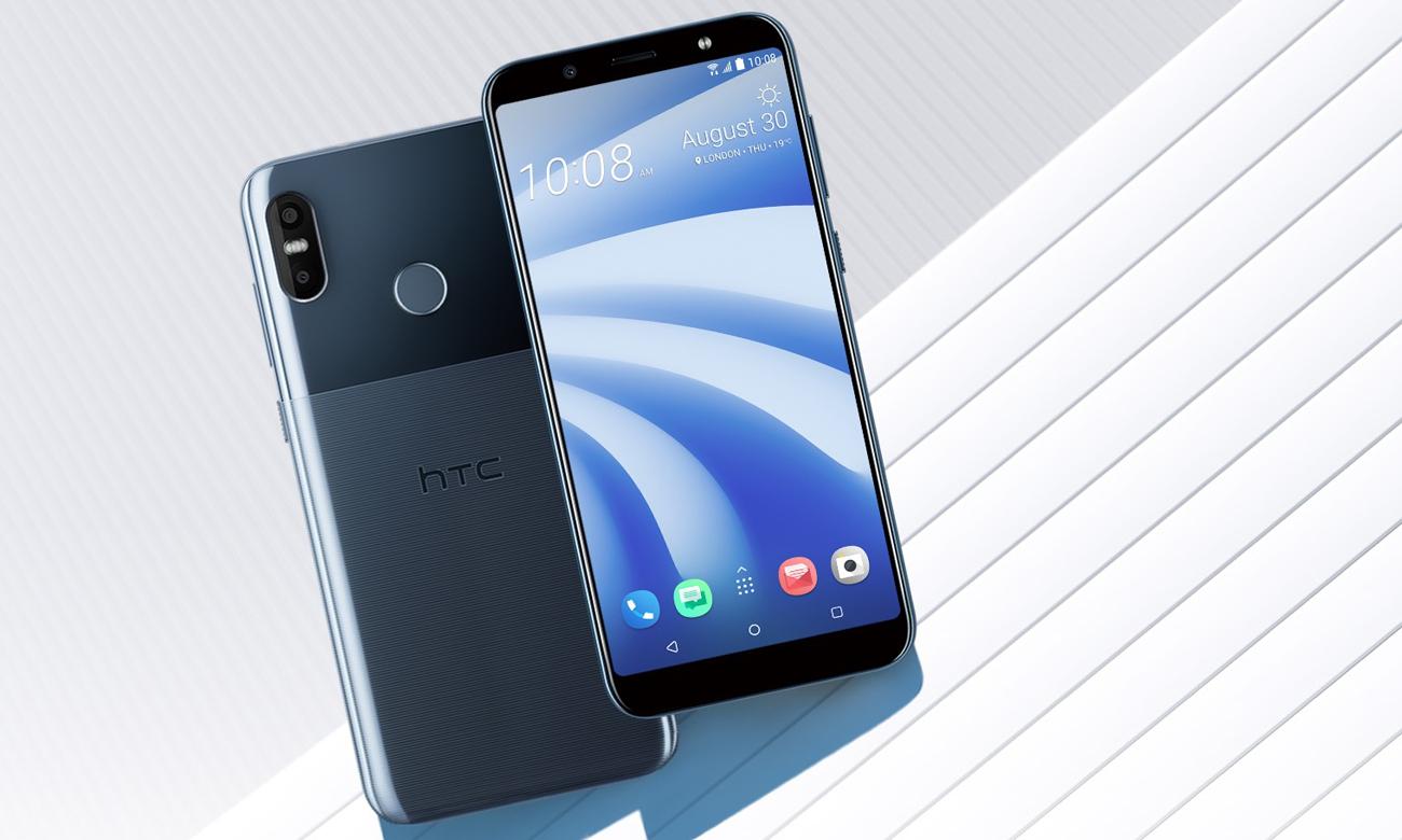 HTC U12 Life jednolita błyszcząca obudowa ze szkła akrylowego