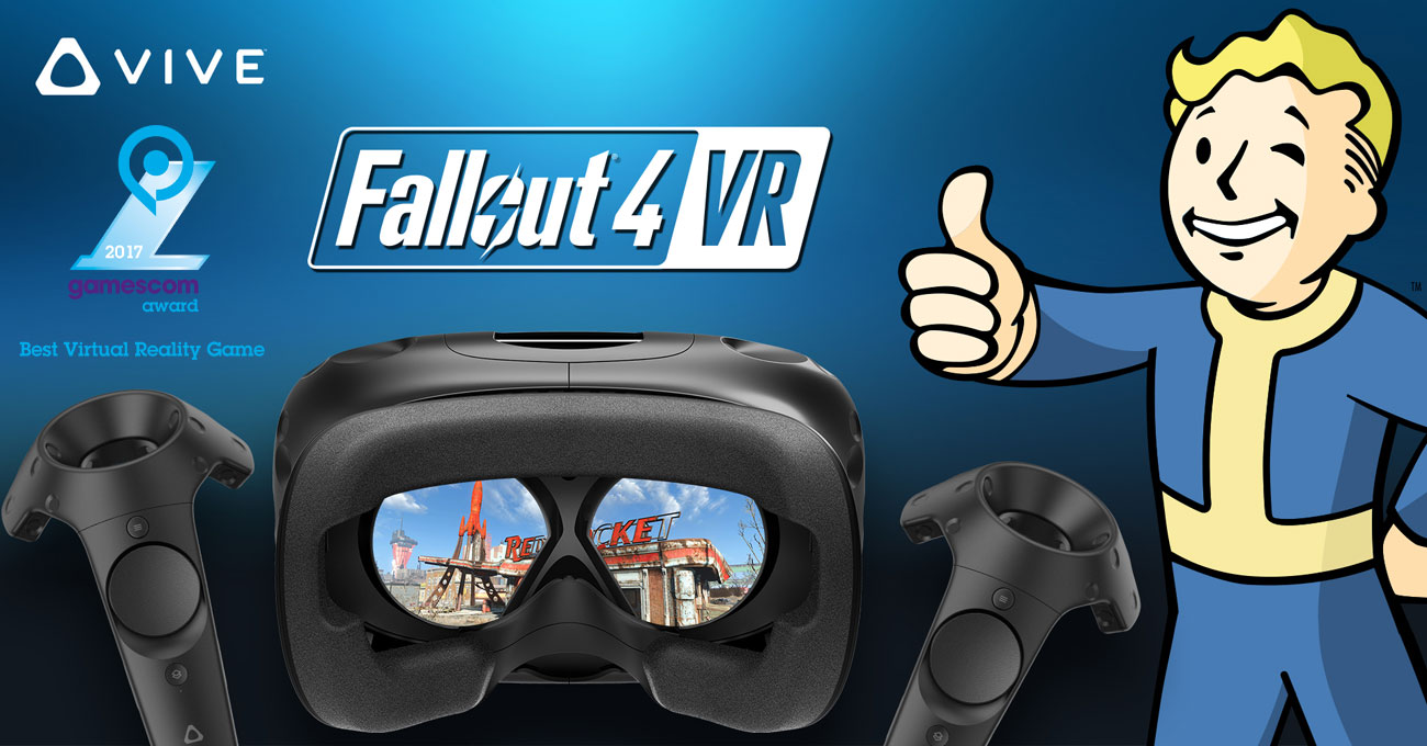 Gogle VR HTC Vive 99HALN004-00 Fallout 4 VR