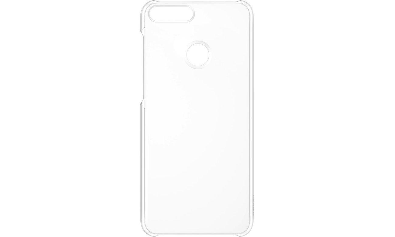 Plastikowe Plecki do Huawei Y7 Prime 2018 Clear 51992438
