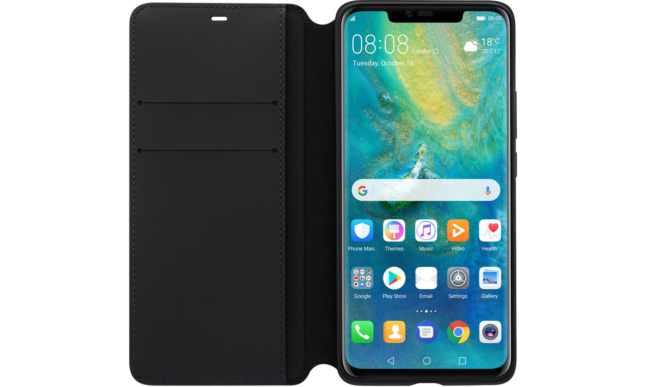 Huawei Wallet Cover do Mate 20 Pro Klapka z kieszonkami