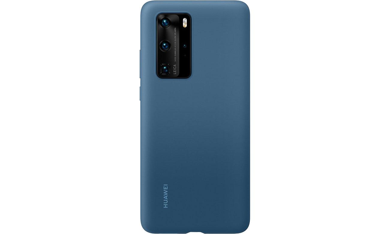 Huawei Plecki silikonowe Huawei P40 Pro jasno niebieskie 51993799