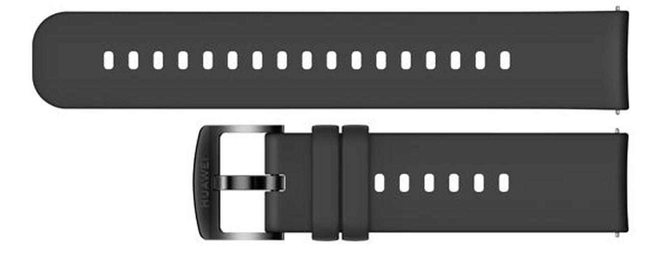 Silikonowy pasek do Huawei Watch GT / GT 2 42 mm Czarny