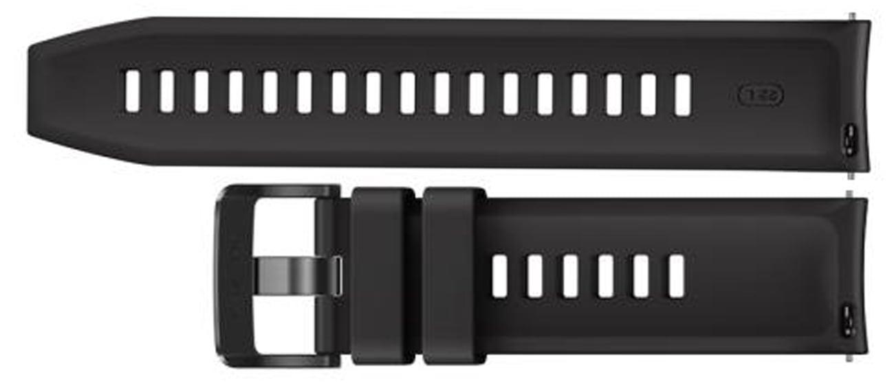 Silikonowy pasek do Huawei Watch GT1 / GT 2 Czarny