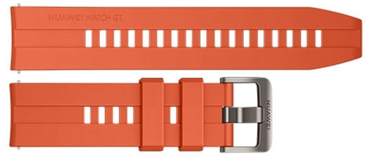 Silikonowy pasek do Huawei Watch GT / GT 2 Pomarańczowy
