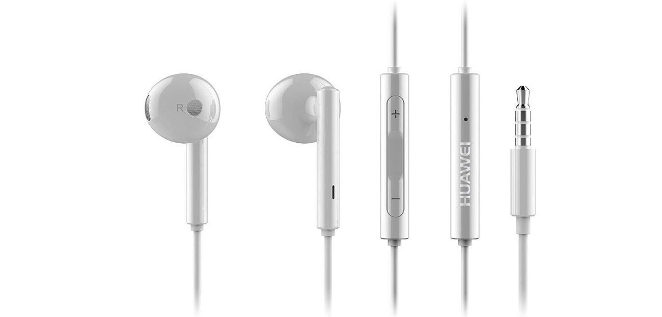 Huawei AM115 Przewodowy 3.5mm biały wysoka jakość dźwięku