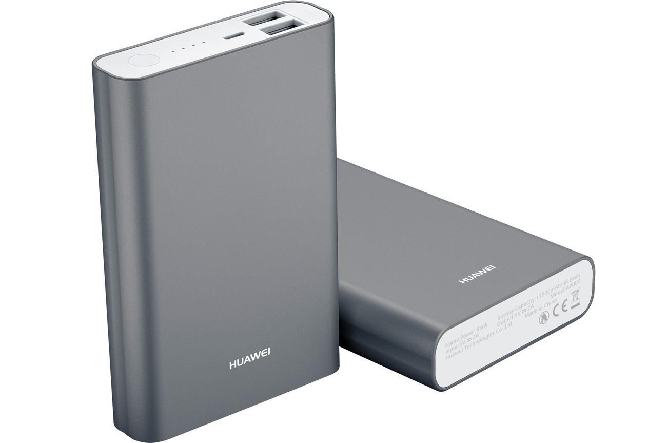 Huawei Powerbank AP007 13000 mAh srebrny 6901443044603