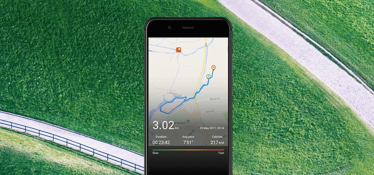 Huawei Band 2 Pro lokalizacja gps