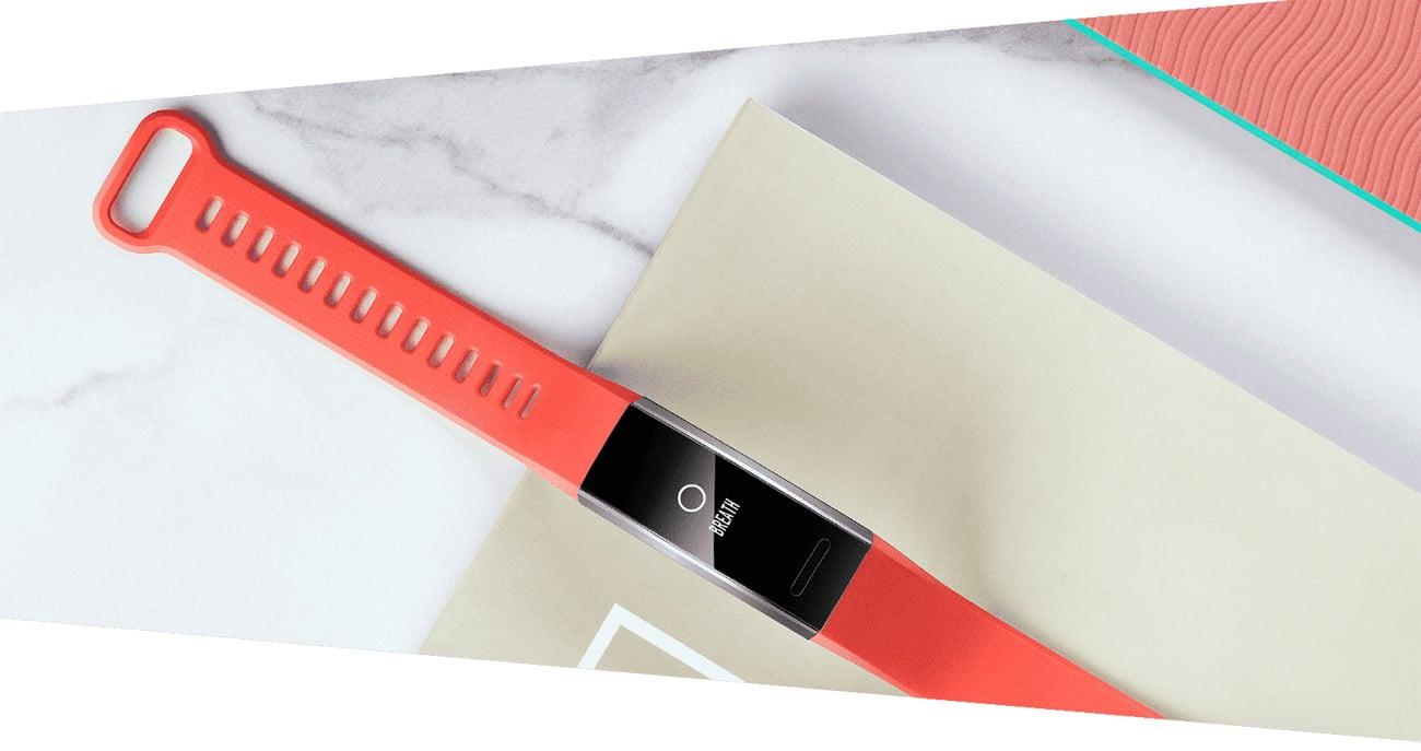 Huawei Band 2 Pro kontrola oddechu