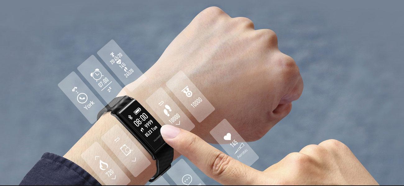 Huawei Band A2 dotykowy ekran oled
