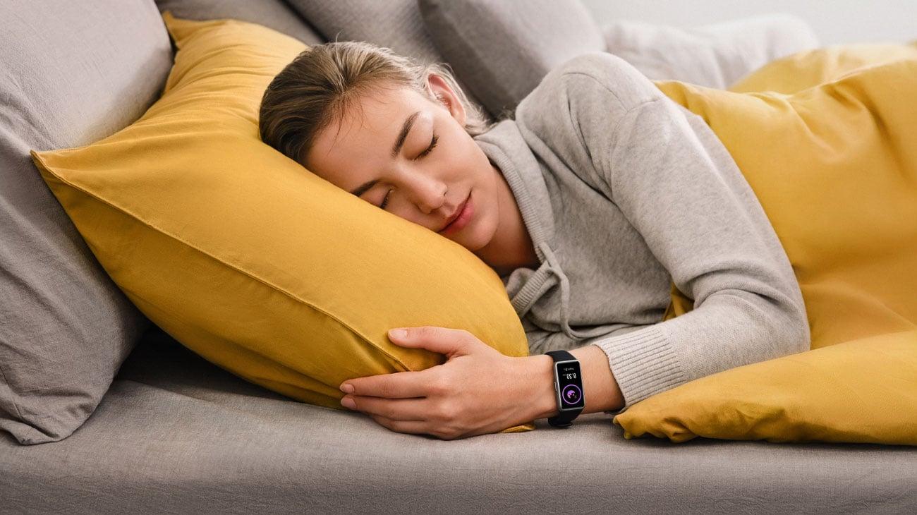 Smartband Huawei Band 6 monitor snu