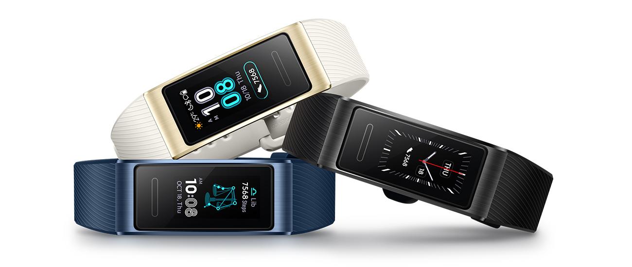 Huawei Band 3 Pro amoled czujniki