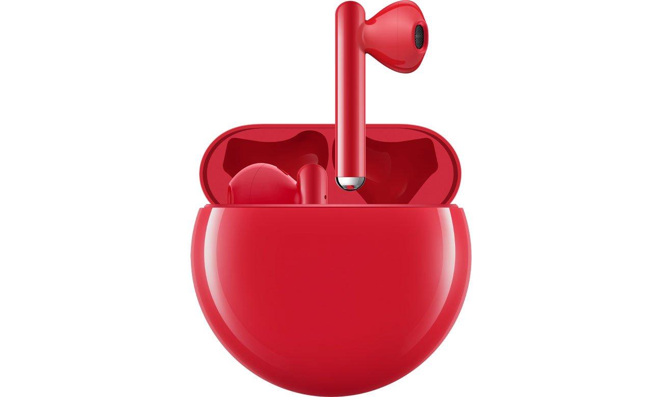 Bezprzewodowe słuchawki Huawei FreeBuds 3 Czerwone
