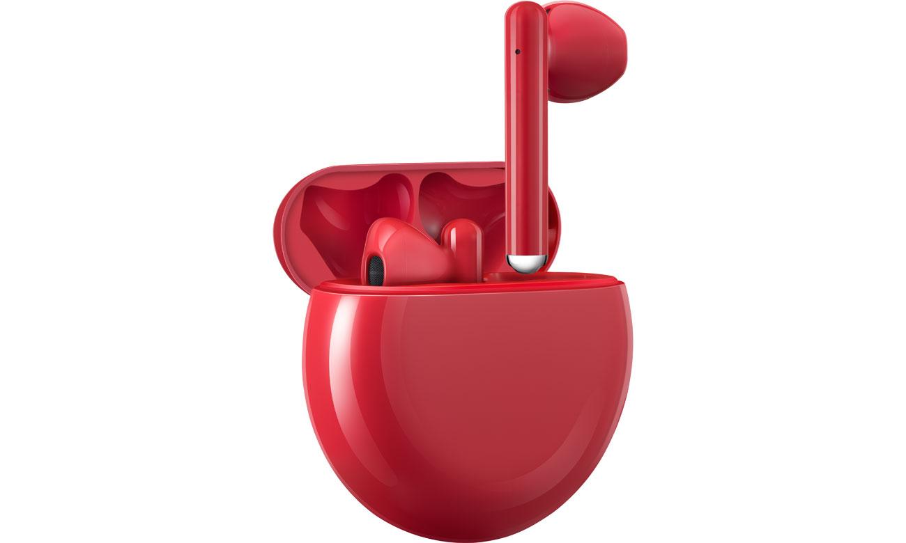 Rozmawiaj przez słuchawki Huawei FreeBuds 3
