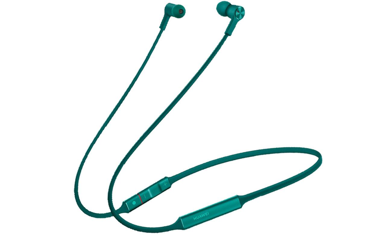 Słuchawki bezprzewodowe Huawei FreeLace zielone
