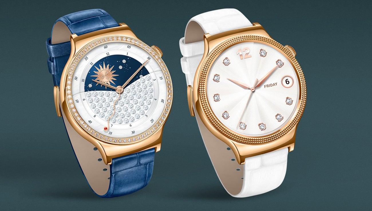 Huawei Lady Watch luksusowy design pasek ze skóry naturalnej