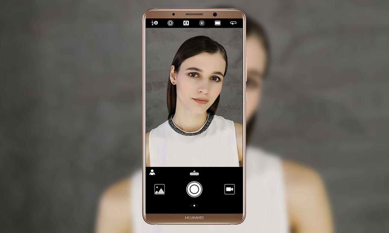 Huawei Mate 10 Pro efekt bokeh inteligentny algorytm identyfikujący