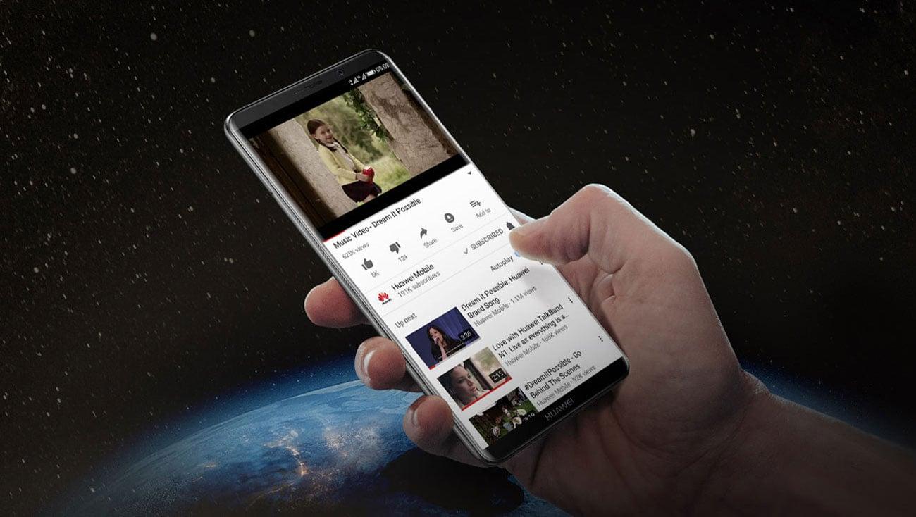 Huawei Mate 10 Pro technologia poprawiająca jakość