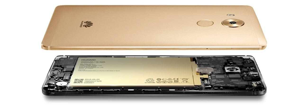 Huawei Mate 8 wytrzymała bateria 4000 mAh