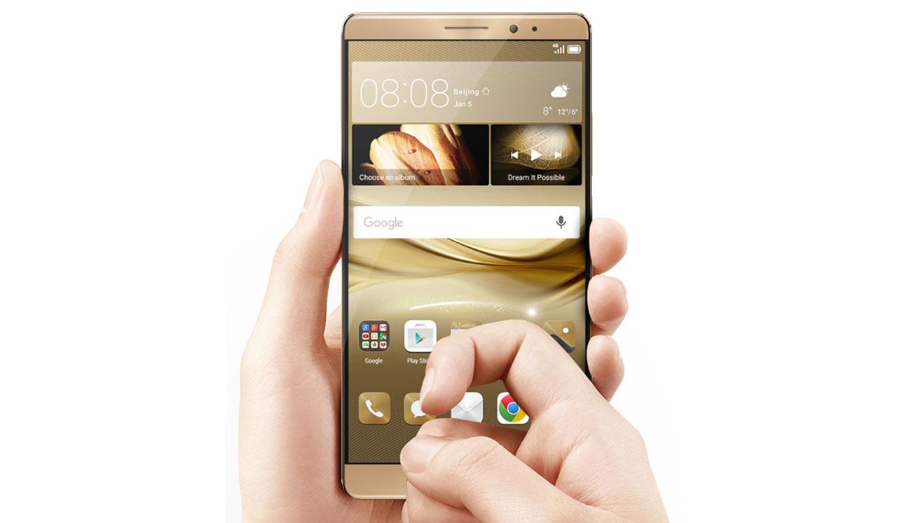 Huawei Mate 8 intuicyjna obsługa gestami