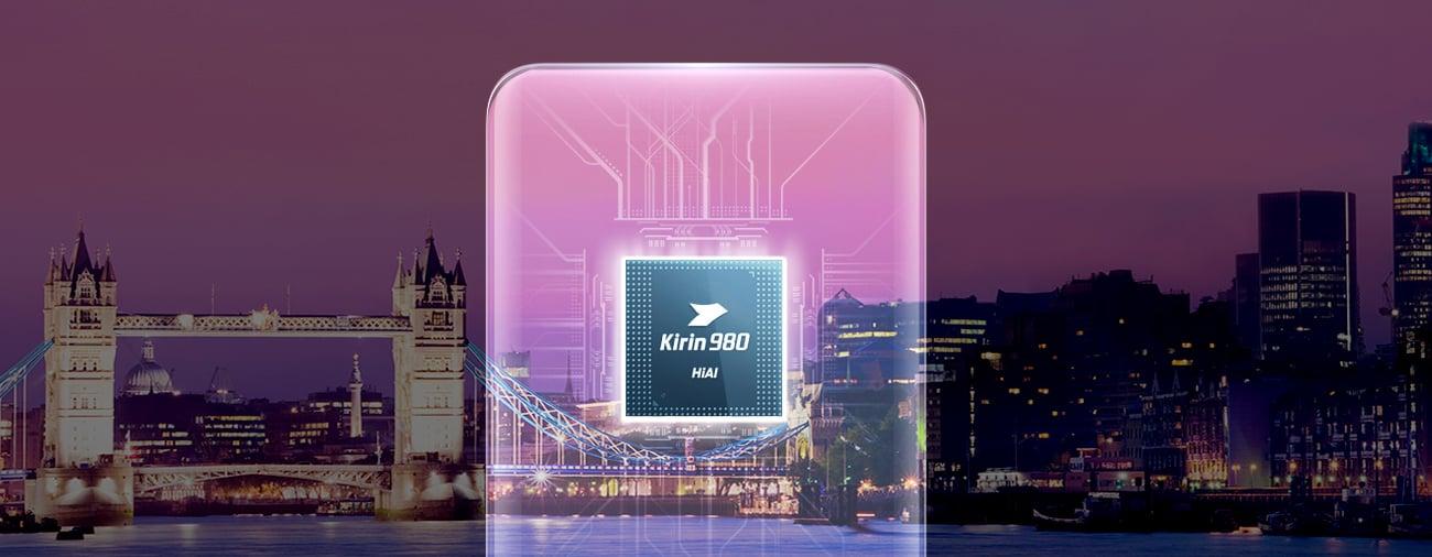 Huawei Mate 20 8-rdzeniowy procesor Kirin 980