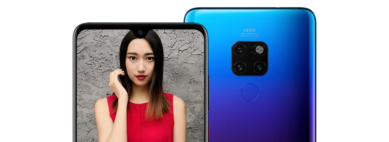 Huawei Mate 20 podtrójny aparat z AI