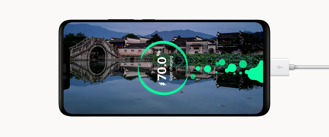 Huawei Mate 20 Pro bateria 4200 mAh czytnik linii papilarnych