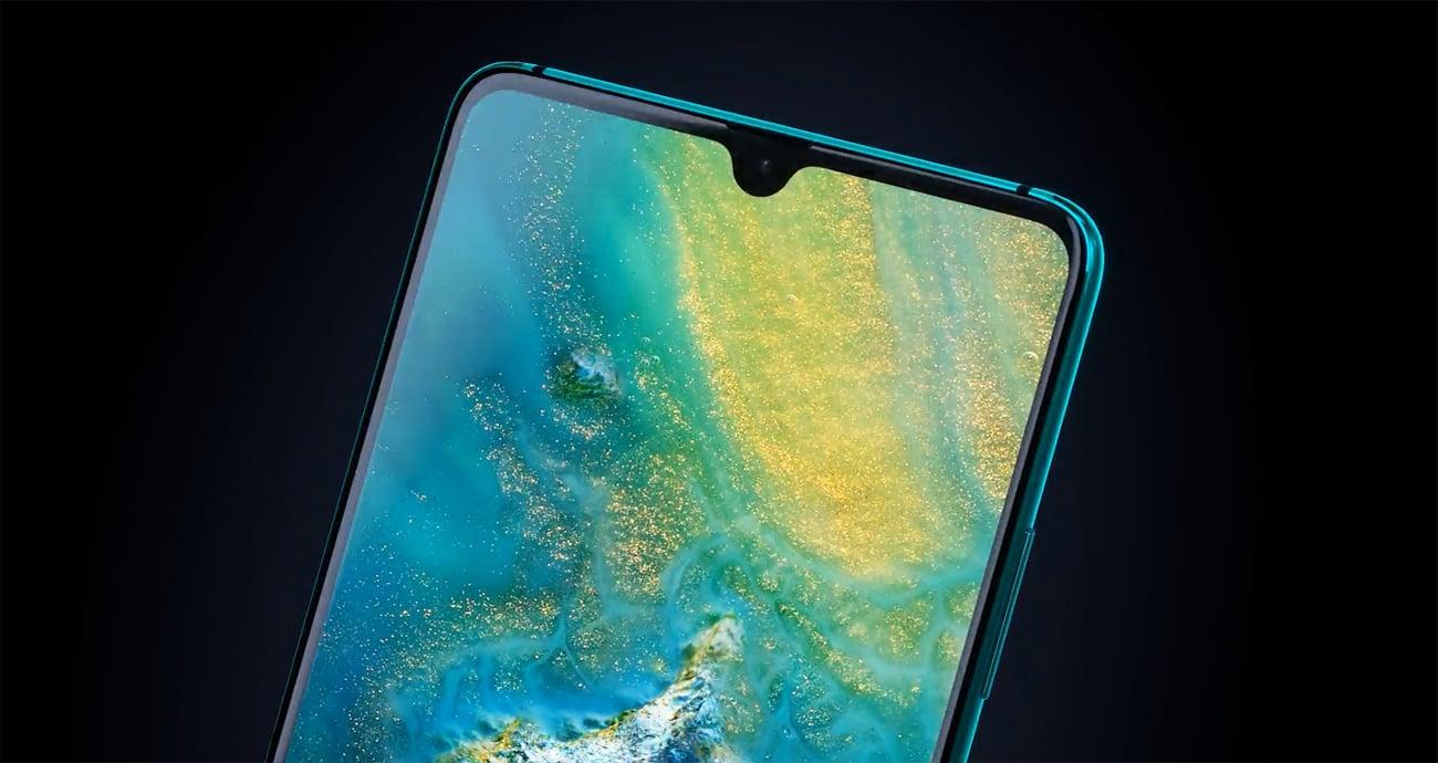 Huawei Mate 20X 5G skaner twarzy czytnik linii papilarnych