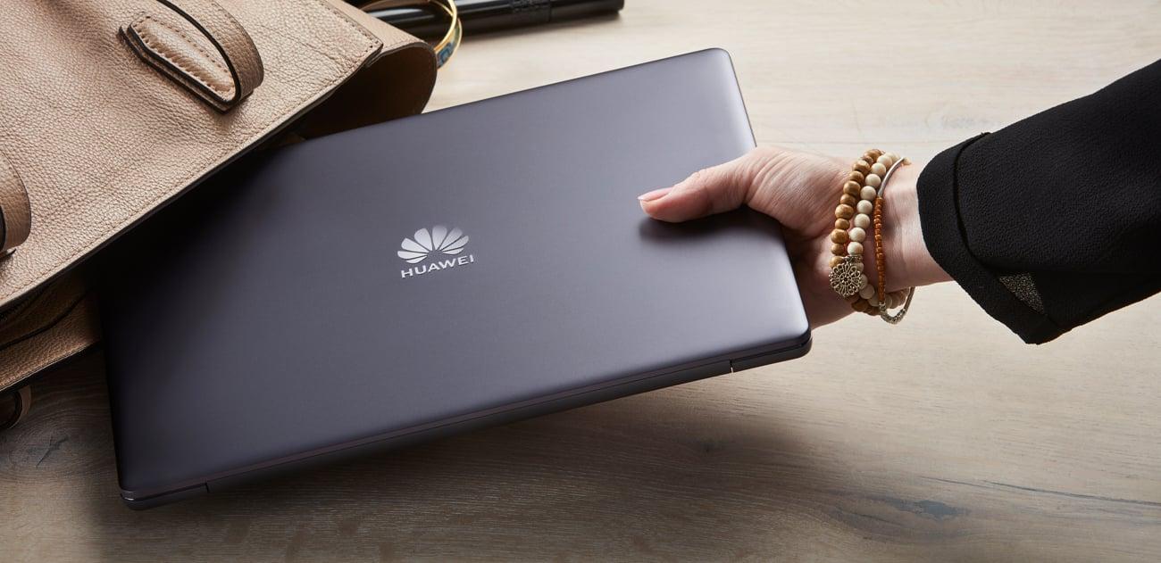 Huawei MateBook 13 design dokładność lekkość aluminiowa konstrukcja