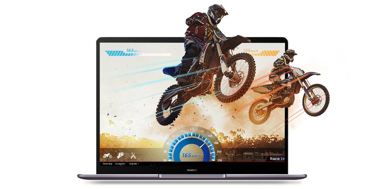 Huawei MateBook 13 moc wydajność dynamika procesor Intel Core i5 ósmej generacji